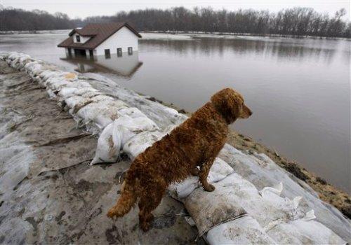 APTOPIX Midwest Flooding Fargo