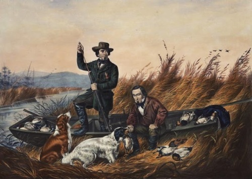 Arthur Fitzwilliam Tait Currier and Ives Wild Duck Shooting A Good Day's Sport