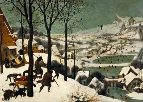 Pieter Bruegel the Elder hunters in the snow