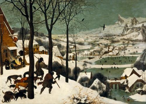 Pieter Bruegel the Elder hunters in the snow