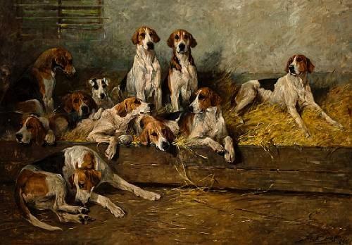 foxhounds john emms 1896