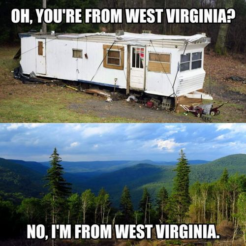 i'm from wv