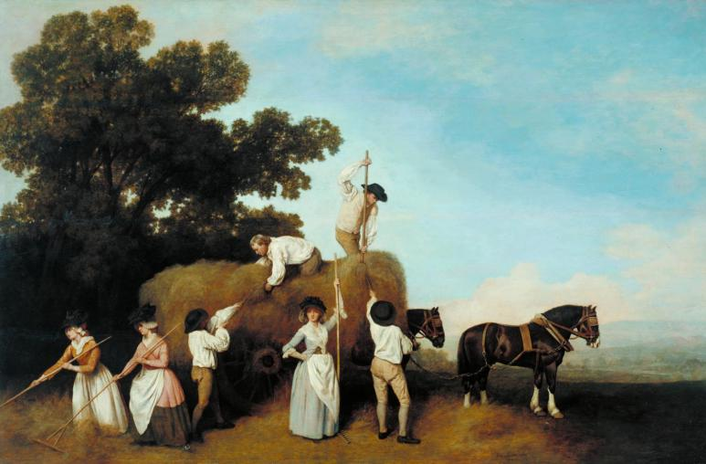Haymakers 1785 by George Stubbs 1724-1806